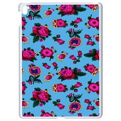 Crown Red Flower Floral Calm Rose Sunflower Apple iPad Pro 9.7   White Seamless Case by Mariart