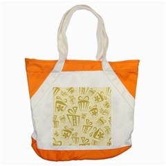 Gift Party Polka Grey Accent Tote Bag by Mariart