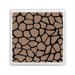 Skin1 Black Marble & Brown Colored Pencil Memory Card Reader (square) by trendistuff