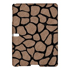 Skin1 Black Marble & Brown Colored Pencil Samsung Galaxy Tab S (10 5 ) Hardshell Case  by trendistuff