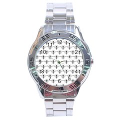 Bee Wasp Sting Stainless Steel Analogue Watch by Mariart