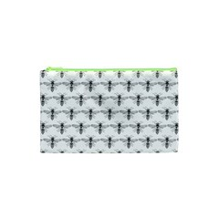 Bee Wasp Sting Cosmetic Bag (xs) by Mariart