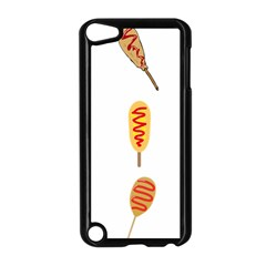 Hot Dog Buns Sate Sauce Bread Apple Ipod Touch 5 Case (black) by Mariart