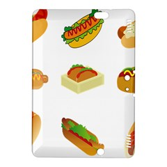 Hot Dog Buns Sauce Bread Kindle Fire Hdx 8 9  Hardshell Case by Mariart
