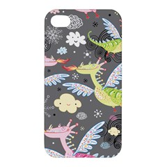 Dragonfly Animals Dragom Monster Fair Cloud Circle Polka Apple Iphone 4/4s Premium Hardshell Case by Mariart