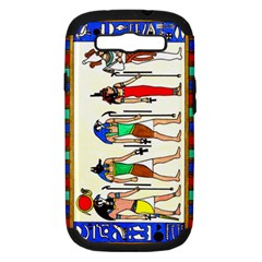 Ancient Egyptian Gods Samsung Galaxy S Iii Hardshell Case (pc+silicone) by retz