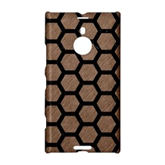 Hexagon2 Black Marble & Brown Colored Pencil (r) Nokia Lumia 1520 Hardshell Case by trendistuff