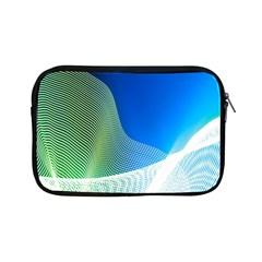Light Means Net Pink Rainbow Waves Wave Chevron Green Blue Apple Ipad Mini Zipper Cases by Mariart