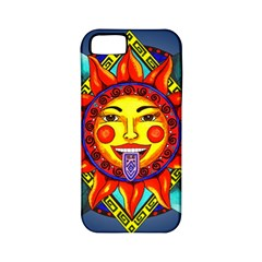 Aztec Sun Stone Apple Iphone 5 Classic Hardshell Case (pc+silicone) by retz