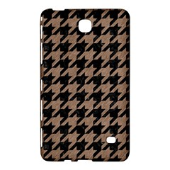 Houndstooth1 Black Marble & Brown Colored Pencil Samsung Galaxy Tab 4 (8 ) Hardshell Case  by trendistuff
