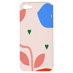 Lip Sexy Flower Tulip Heart Pink Red Blue Green Love Apple Iphone 5 Hardshell Case by Mariart
