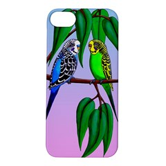 Budgies In The Gum Tree Apple Iphone 5s/ Se Hardshell Case by retz