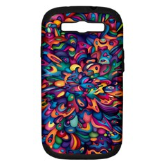Moreau Rainbow Paint Samsung Galaxy S Iii Hardshell Case (pc+silicone) by Mariart