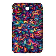 Moreau Rainbow Paint Samsung Galaxy Tab 3 (7 ) P3200 Hardshell Case  by Mariart