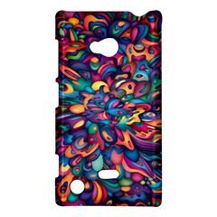 Moreau Rainbow Paint Nokia Lumia 720 by Mariart