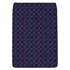 Purple Floral Seamless Pattern Flower Circle Star Flap Covers (s)  by Mariart