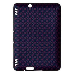Purple Floral Seamless Pattern Flower Circle Star Kindle Fire Hdx Hardshell Case by Mariart