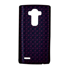 Purple Floral Seamless Pattern Flower Circle Star Lg G4 Hardshell Case by Mariart