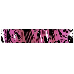 Octopus Colorful Cartoon Octopuses Pattern Black Pink Flano Scarf (large) by Mariart