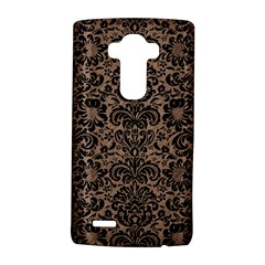 Damask2 Black Marble & Brown Colored Pencil (r) Lg G4 Hardshell Case by trendistuff