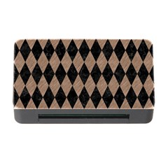 Diamond1 Black Marble & Brown Colored Pencil Memory Card Reader With Cf by trendistuff