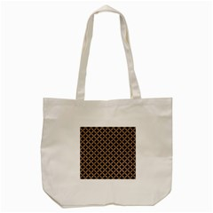 Circles3 Black Marble & Brown Colored Pencil Tote Bag (cream) by trendistuff