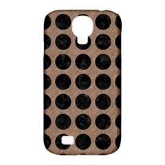 Circles1 Black Marble & Brown Colored Pencil (r) Samsung Galaxy S4 Classic Hardshell Case (pc+silicone) by trendistuff