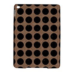 Circles1 Black Marble & Brown Colored Pencil (r) Apple Ipad Air 2 Hardshell Case by trendistuff