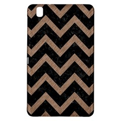 Chevron9 Black Marble & Brown Colored Pencil Samsung Galaxy Tab Pro 8 4 Hardshell Case by trendistuff