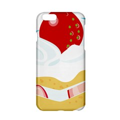Seeds Strawberry Bread Fruite Red Apple Iphone 6/6s Hardshell Case by Mariart