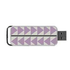 Shapes Patchwork Circle Triangle Portable Usb Flash (one Side) by Mariart