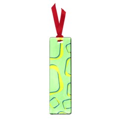 Shapes Green Lime Abstract Wallpaper Small Book Marks by Mariart