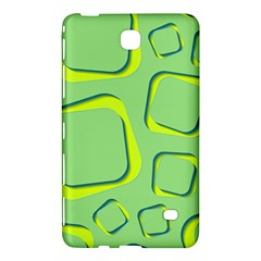 Shapes Green Lime Abstract Wallpaper Samsung Galaxy Tab 4 (8 ) Hardshell Case  by Mariart