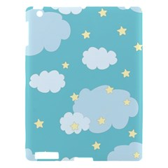 Stellar Cloud Blue Sky Star Apple Ipad 3/4 Hardshell Case by Mariart