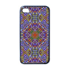 Oriental Pattern 01a Apple Iphone 4 Case (black) by MoreColorsinLife