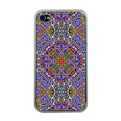 Oriental Pattern 01a Apple Iphone 4 Case (clear) by MoreColorsinLife