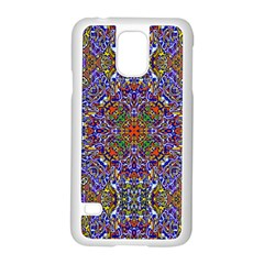 Oriental Pattern 01a Samsung Galaxy S5 Case (white) by MoreColorsinLife
