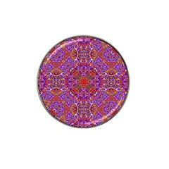 Oriental Pattern 01c Hat Clip Ball Marker (10 Pack) by MoreColorsinLife