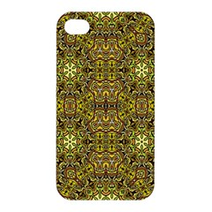Oriental Pattern 02a Apple Iphone 4/4s Hardshell Case by MoreColorsinLife