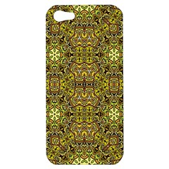 Oriental Pattern 02a Apple Iphone 5 Hardshell Case by MoreColorsinLife
