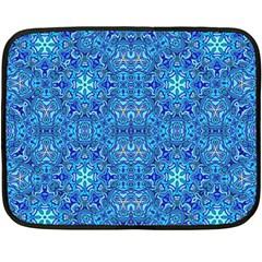 Oriental Pattern 02b Double Sided Fleece Blanket (mini)  by MoreColorsinLife