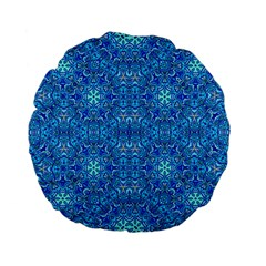 Oriental Pattern 02b Standard 15  Premium Flano Round Cushions by MoreColorsinLife