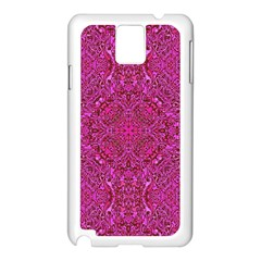 Oriental Pattern 02c Samsung Galaxy Note 3 N9005 Case (white) by MoreColorsinLife