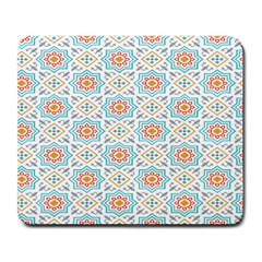 Star Sign Plaid Large Mousepads by Mariart