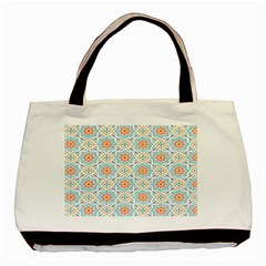 Star Sign Plaid Basic Tote Bag by Mariart