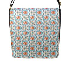 Star Sign Plaid Flap Messenger Bag (l)  by Mariart