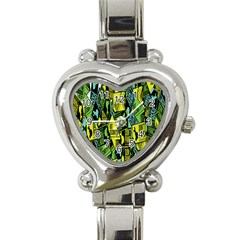 Sign Don t Panic Digital Security Helpline Access Heart Italian Charm Watch by Mariart