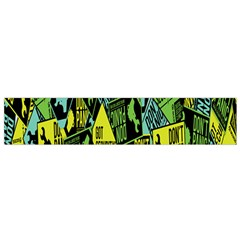 Sign Don t Panic Digital Security Helpline Access Flano Scarf (small) by Mariart