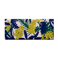 Tropics Leaf Yellow Green Blue Cosmetic Storage Cases by Mariart