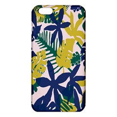 Tropics Leaf Yellow Green Blue Iphone 6 Plus/6s Plus Tpu Case by Mariart